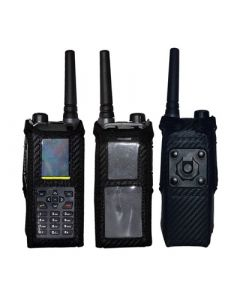 Funkholster Synthetik/Leder / Kontaktpro-Halterung / für verdeckte Tragweise / zu POLYCOM TPH900