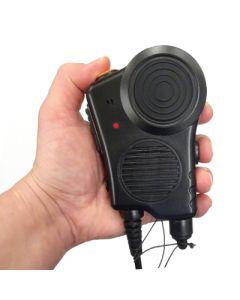EADS / AIRBUS / POLYCOM TPH900 FireFighter Handmikrofon PTT gross / Channel free on/off / IP67 / CE