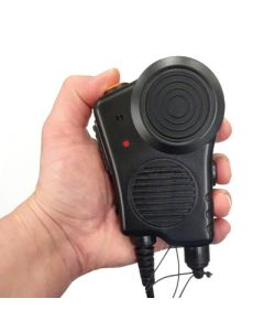 EADS / AIRBUS / POLYCOM TPH700 FireFighter Handmikrofon PTT gross / Channel free on/off / IP67 / CE