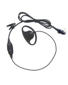 Audio-Spechset mit In-Line PTT/Microfon, VOX
