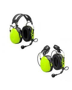 Gehörschutzgarnitur mit Flex 2 Anschluss für ein Funkgerät