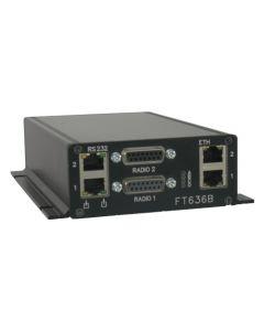 FT636b-IP Netzwerk-Interface im Flanschgehäuse, ohne Software und Engineering (IP Anschaltung)
