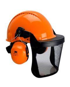 Helmkonbination orange
