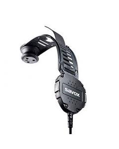 HC-1-XG Körperschallmikrophon und 6,5mm Nexusstecker 5pol