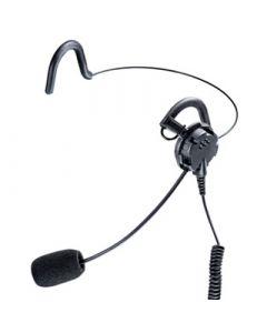 Ohrhörer mit Lippenmikrofon und Nackenbügel Nexus 6,5mm