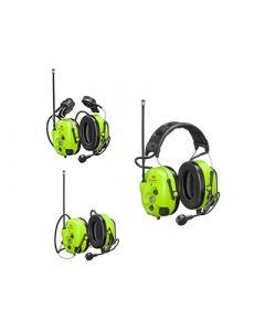 Gehörschutz mit vorprogrammiertem Analog-/Digital-Funkgerät