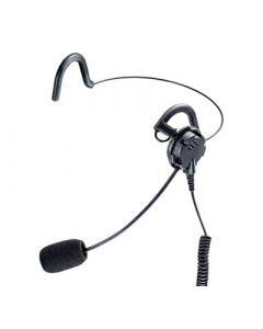 Ohrhörer mit Lippenmikrofon und Nackenbügel, Nexus 6,5mm (5Pol)